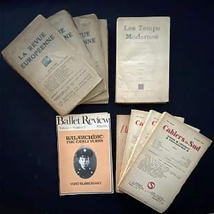 10 Publication on literature. Sartre, Ballard