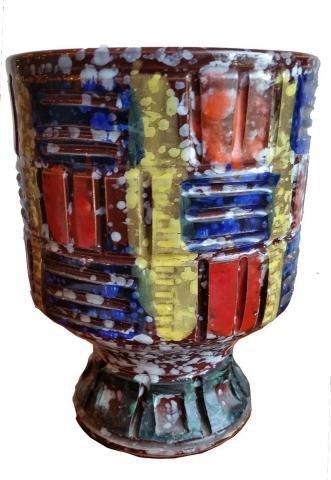 Rossini Italian Mid Century Pottery Vase -1960\'s