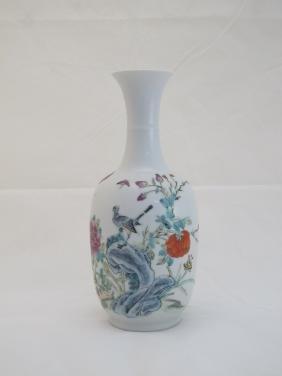 A Famile-Rose Vase