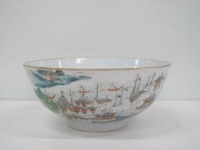 A Chinese Porcelain Family-Rose Bowl