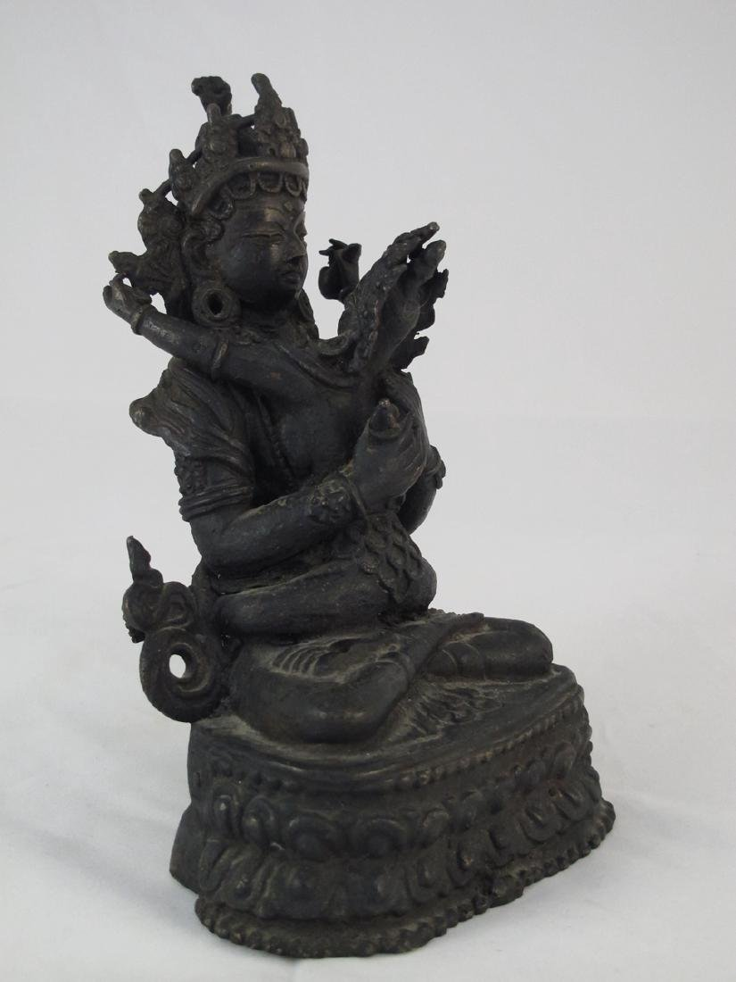 A Chinese Bronze Buddha - 2