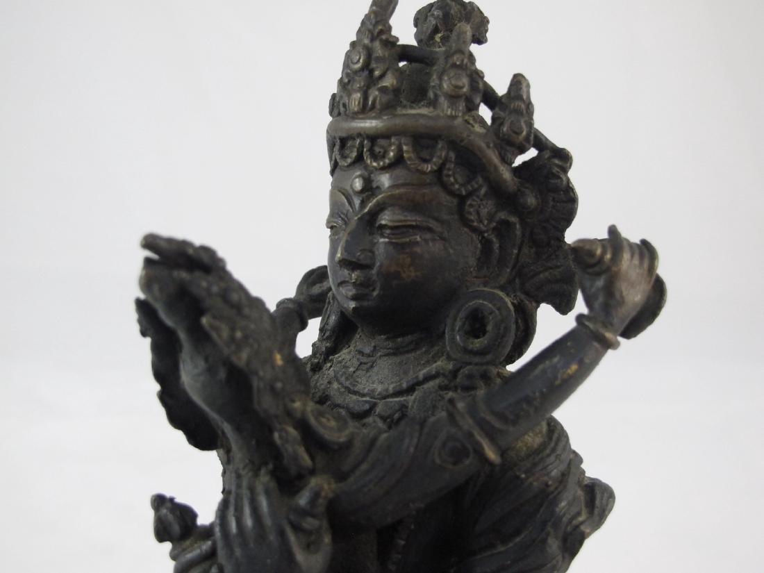 A Chinese Bronze Buddha - 5