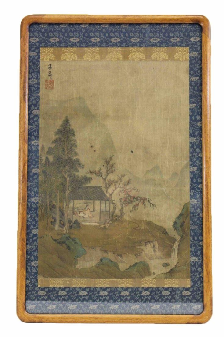 A Chinese Landscap  Painting by zi Ang