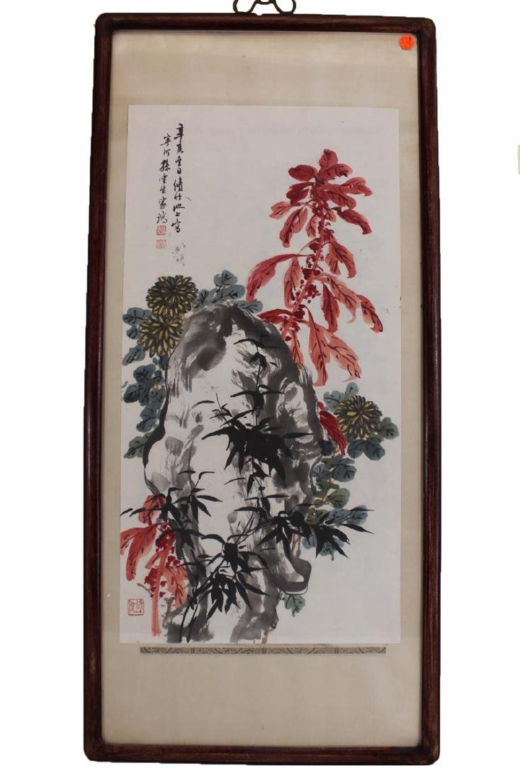 A Chinese Flower Painting