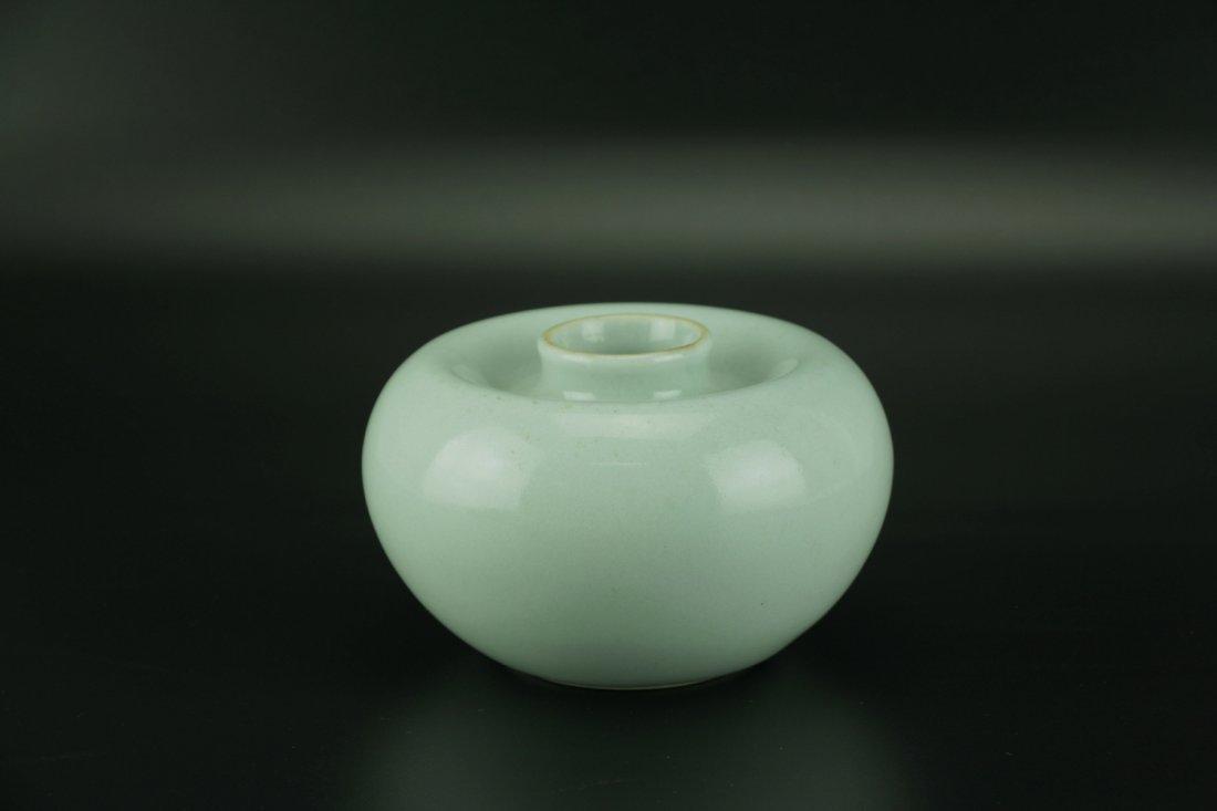 'Apple' Waterpot with Qianlong Six-character Mark