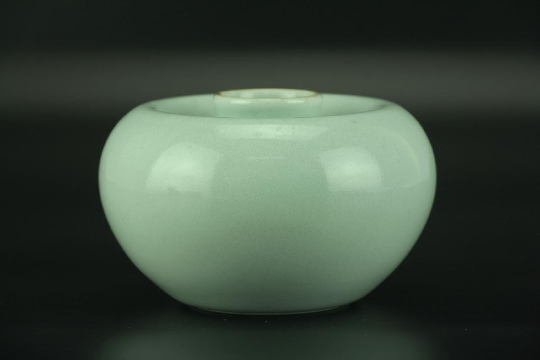'Apple' Waterpot with Qianlong Six-character Mark - 9