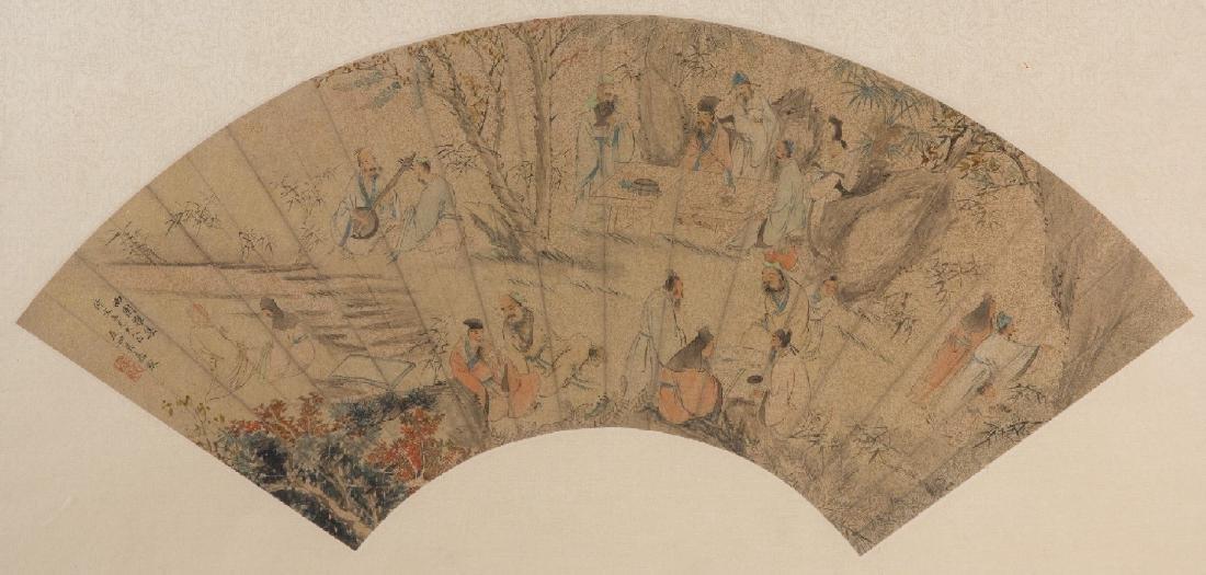 Paingitng of West Garden Gathering by Wu Youru
