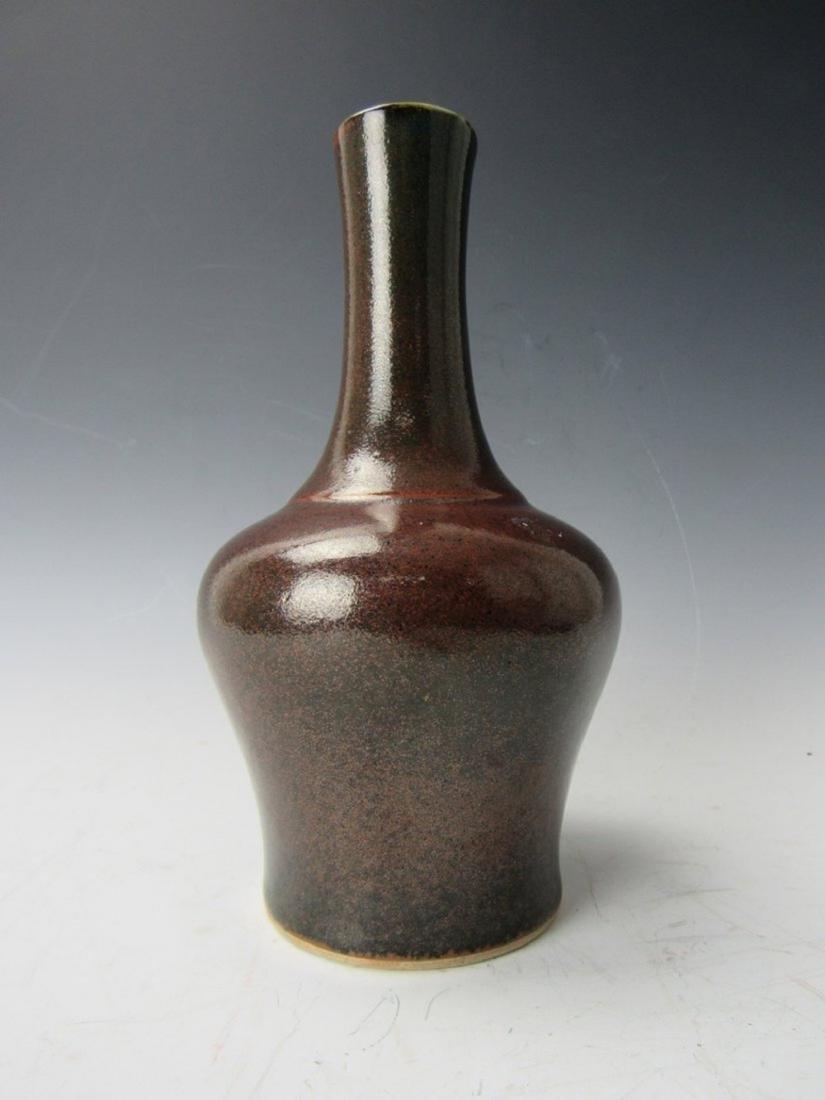 Chinese porcelain bottle vase with Guangxu mark