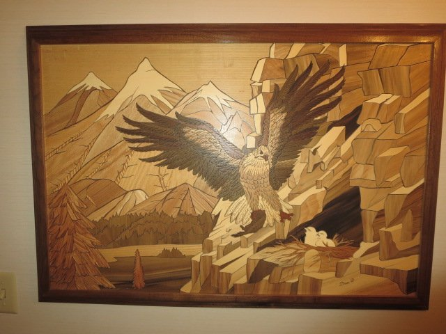 Wooden Eagle Picture