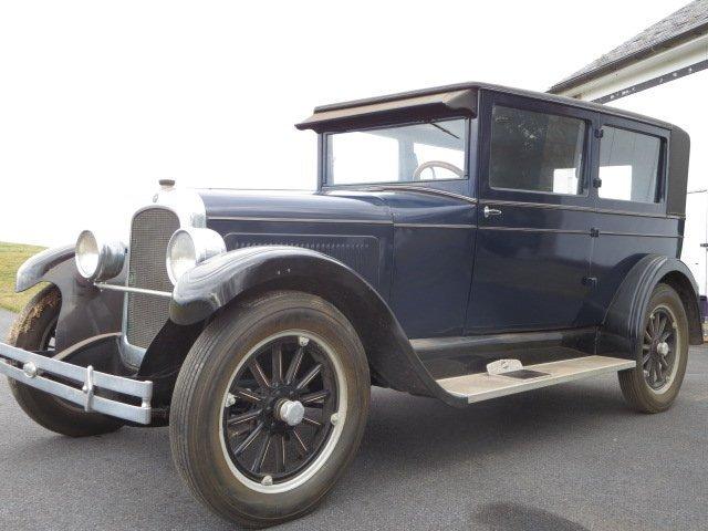 1924 Overland Sedan