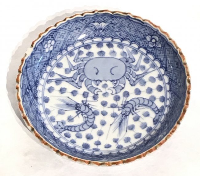 EXQUISITE CHINESE MING STYLE PORCELAIN BOWL