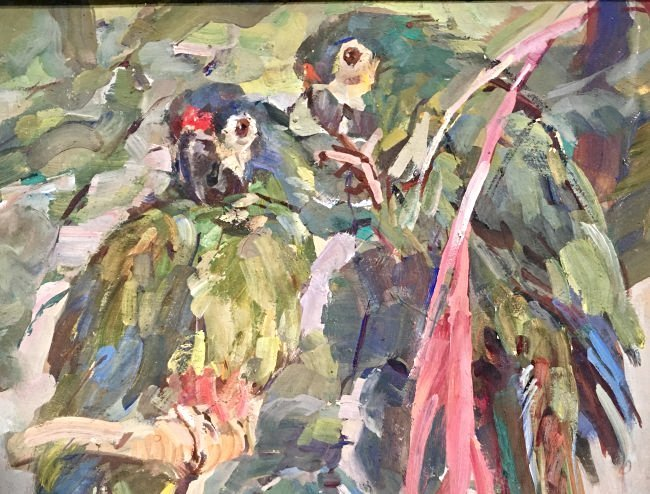 THE PARROTS BY CARL FAHRINGER - 3