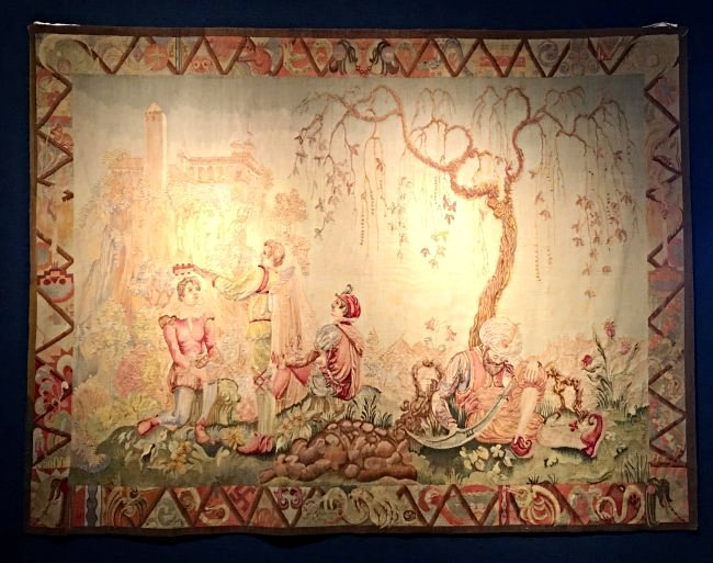 "VERY FINE ""TALES OF THE ALHAMBRA"" TAPESTRY"