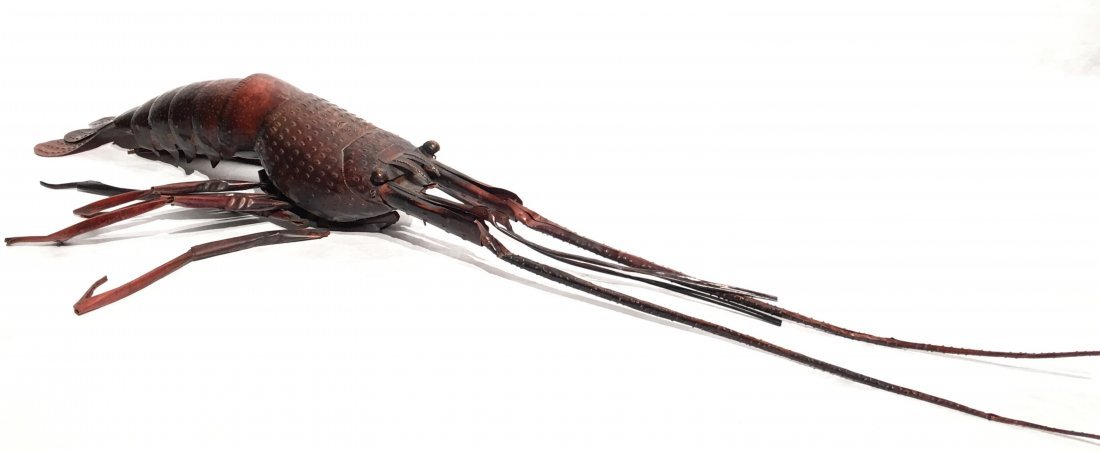 JAPANESE COPPER FULLY ARTICULATED LOBSTER