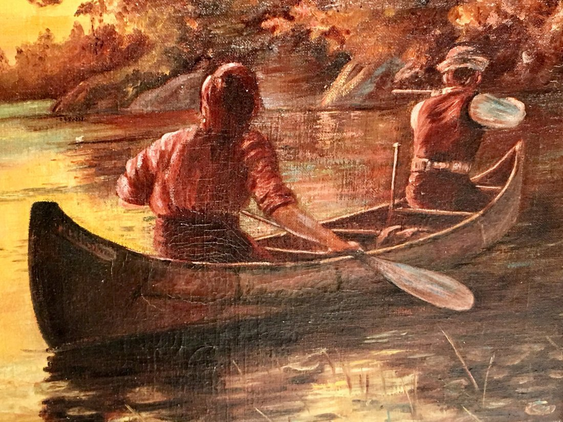 MEN IN A ROWBOAT BY GEORGE BENNETT JULIAN - 3