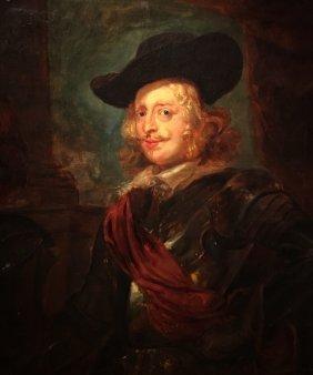 Large Portrait Of Archduke Ferdinand After Rubens