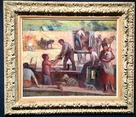IN CATALOGUE RAISONNE THE WORKERS BY MAXIMILIEN LUCE