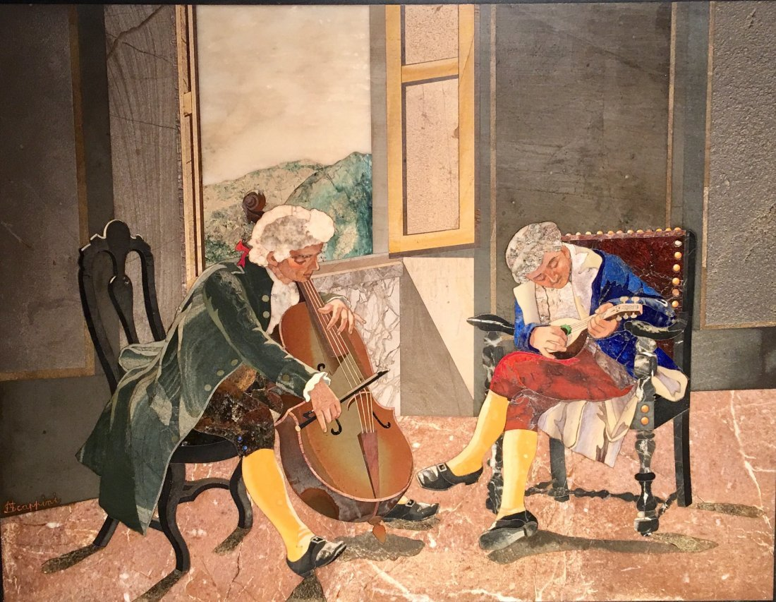 THE MUSICIANS-THE DUO BY M. SCAPPINI