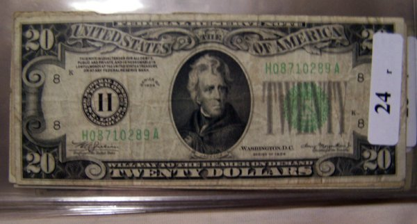 24: 3  $20.00 NOTES          3-1934  F