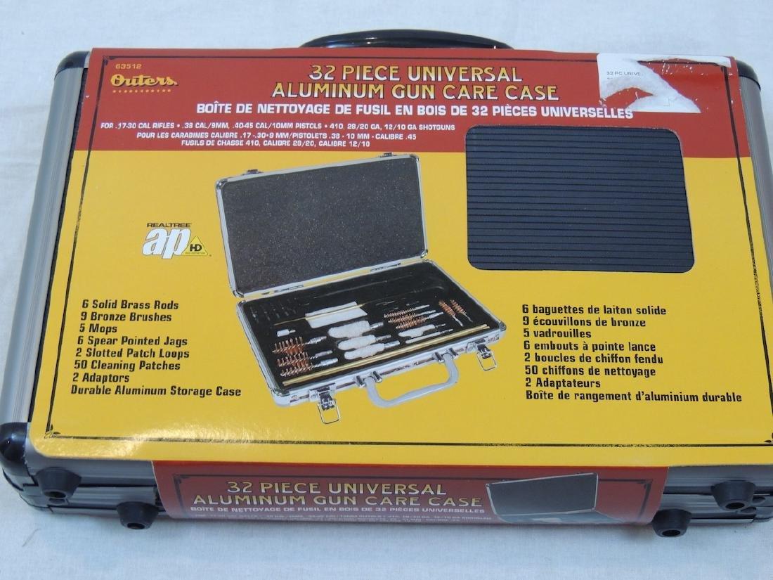 Outers 32pc Universal Aluminum gun care case new