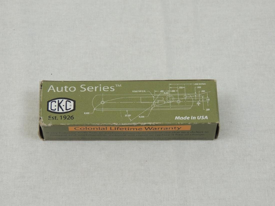 CKC Automatic push button knife - New in Box