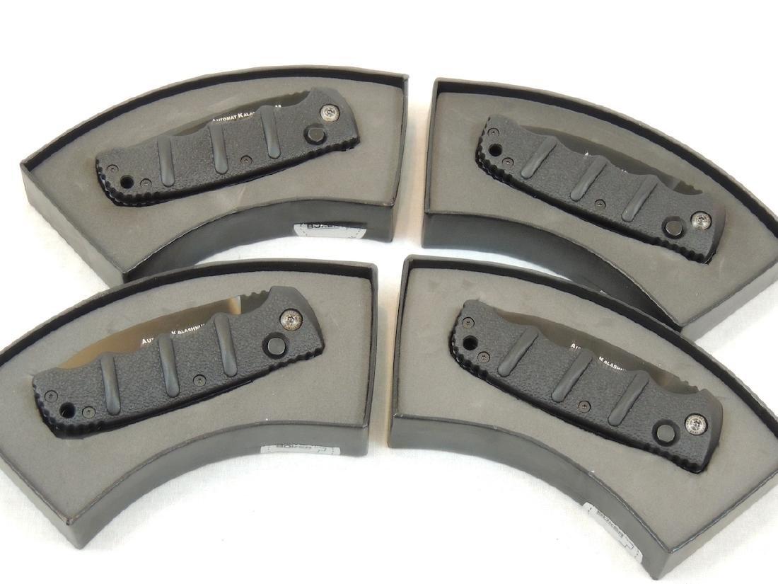 4 Boker Kalashnikov Automatic Knives - New in Box