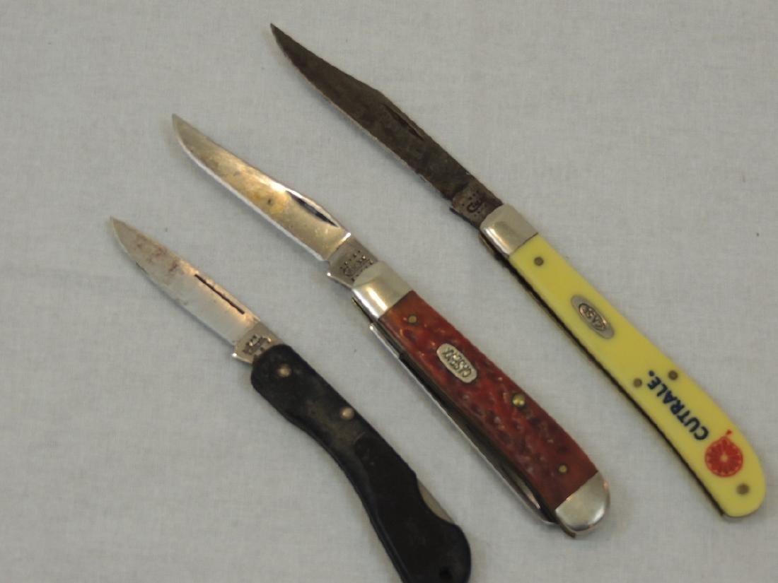 3 Case Knives