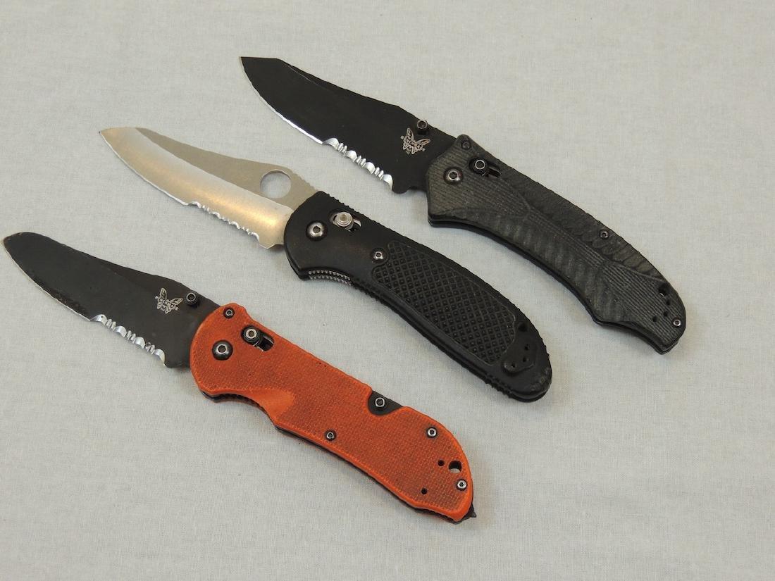 3 Benchmade Knives