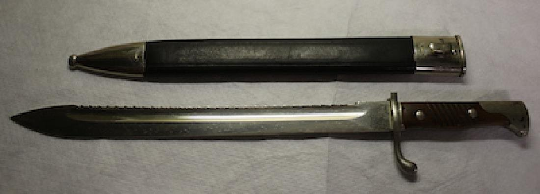 WWII German Bayonet with holder