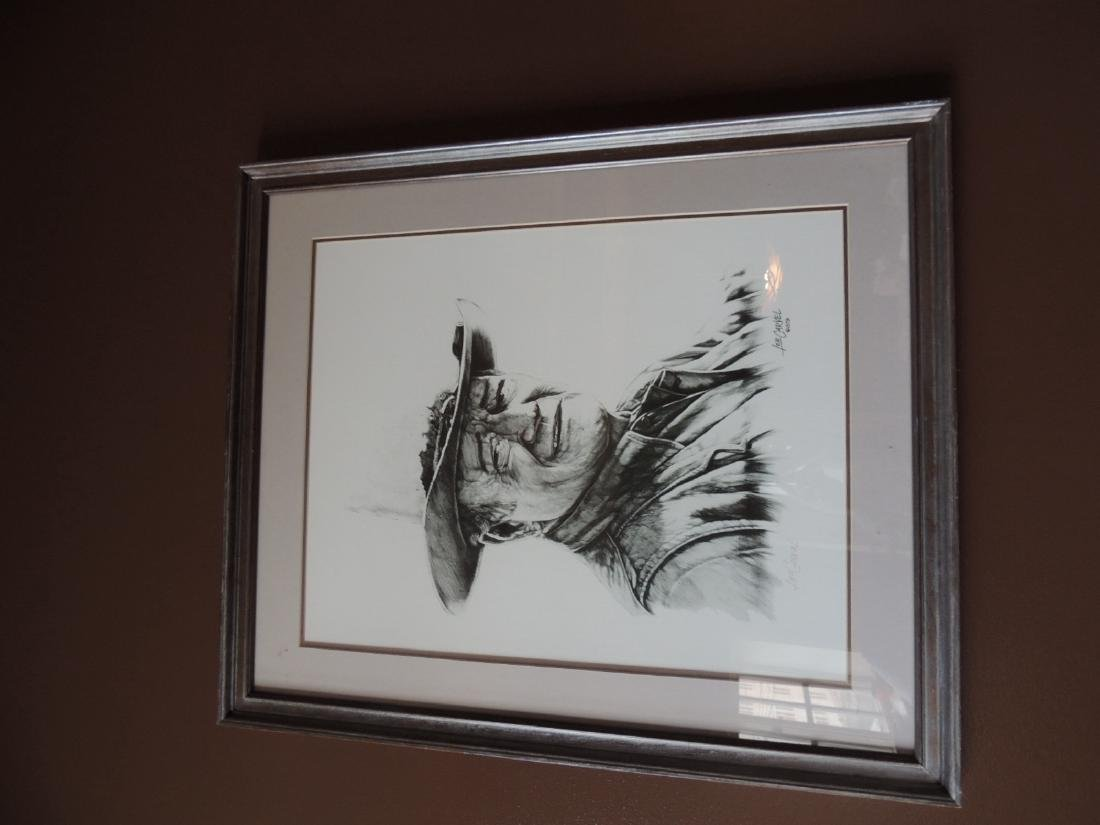 John Wayne Print - Signed and numbered $75 to $150
