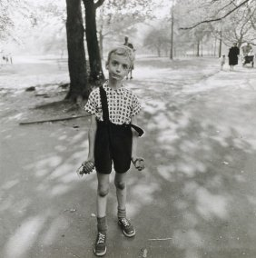 Child with a Toy Hand Grenade, Diane Arbus, 1962