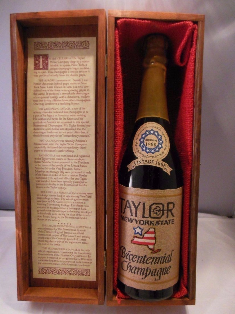 Extremely RARE 1966 Taylor New York State Champagne.