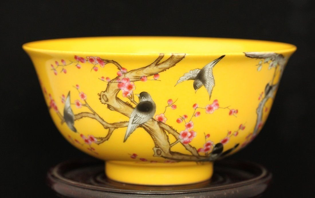 Important Famille-Rose Porcelain Bowl, Yongzheng Period