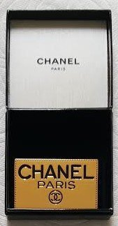 RARE VINTAGE AUTHENTIC CHANEL BROOCH W/ ORIGINAL BOX
