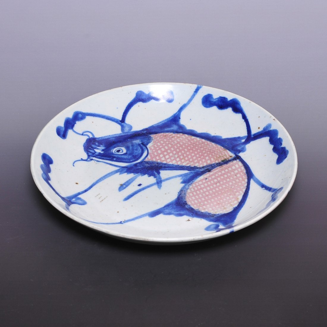 Chinese Qing Dynasty Old Antique Blue and white porcela