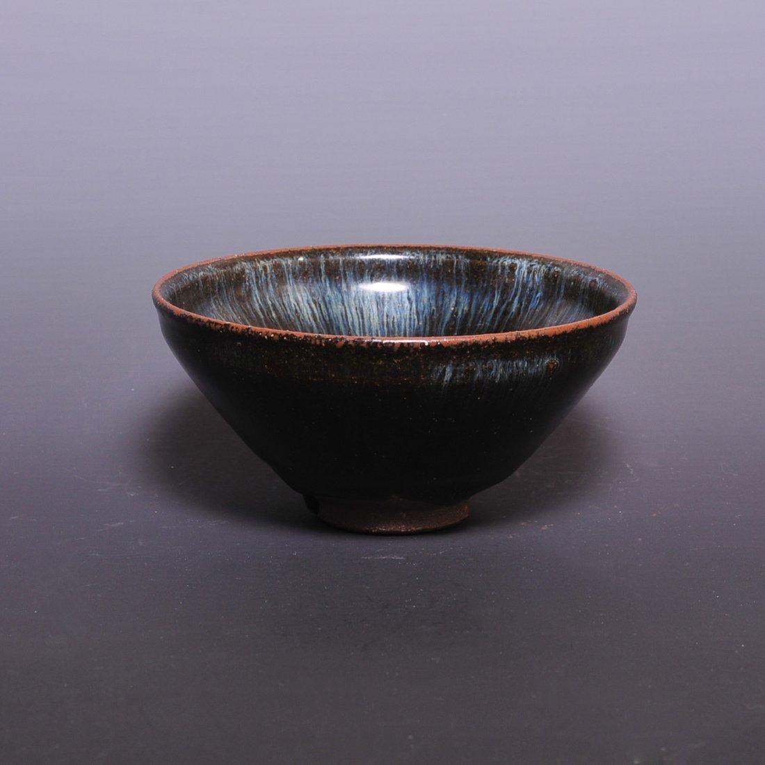 Southern Song Dynasty Jizhou kiln blue Bowl