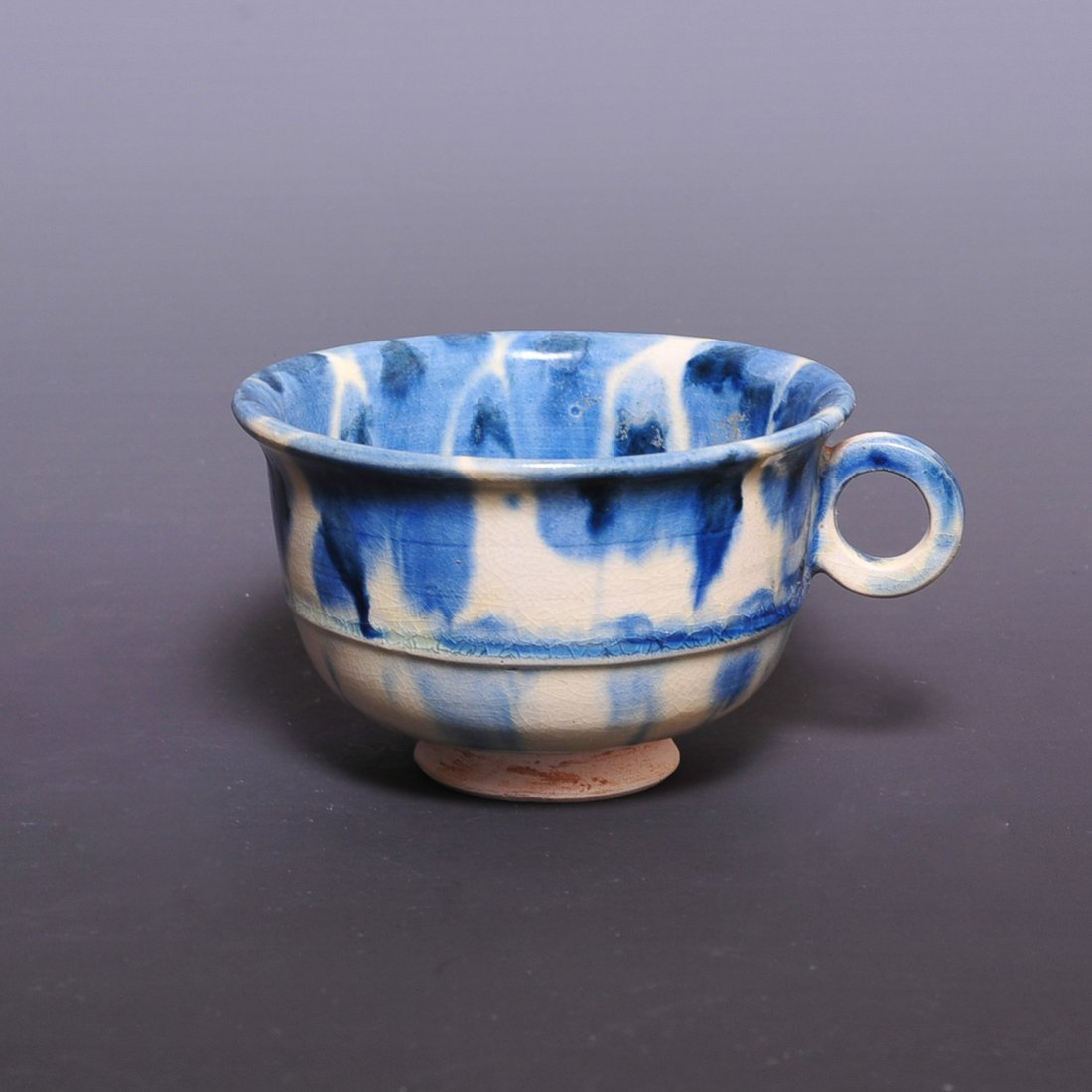 Tang Dynasty, A blue glaze cup