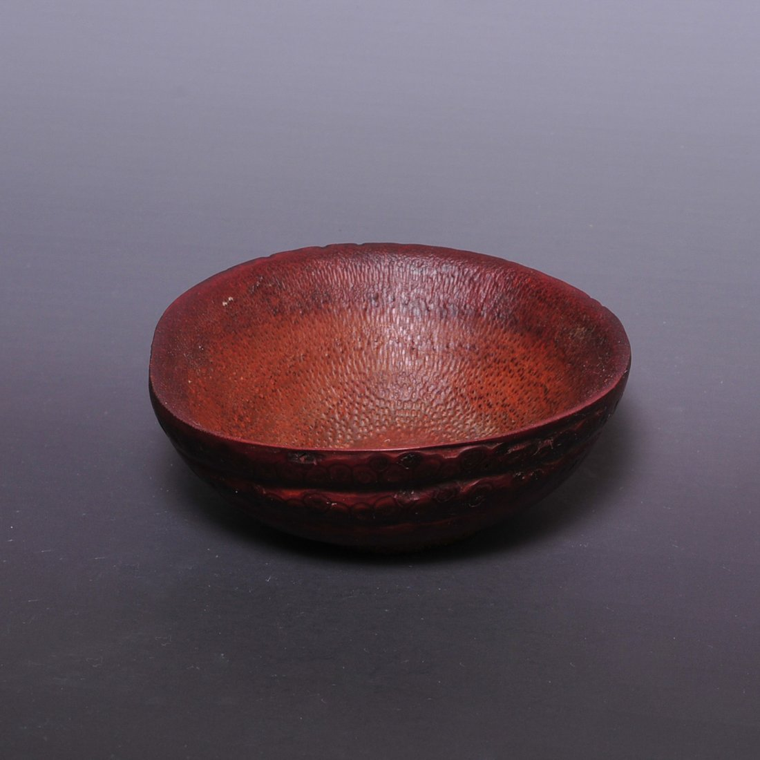 Qing Dynasty Bamboo Root Carved Bowel