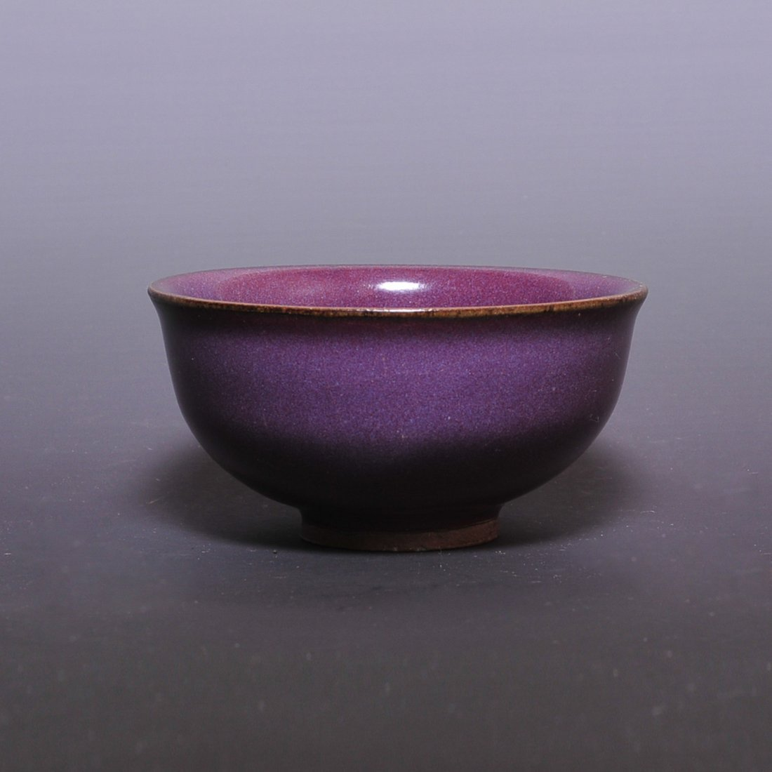 Ming Dynasty, A rose-purple bowl