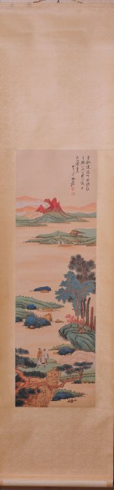 Chinese Scroll Painting (Zhang Daqian signed)