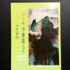 Chang Dai-Chien Paintings Caligraphy Slipcase National
