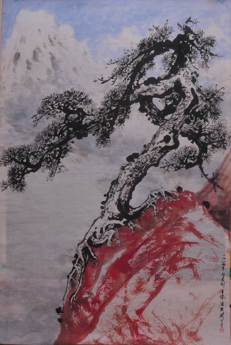 A Chinese Painting (Attributed to Guan Shanyue)