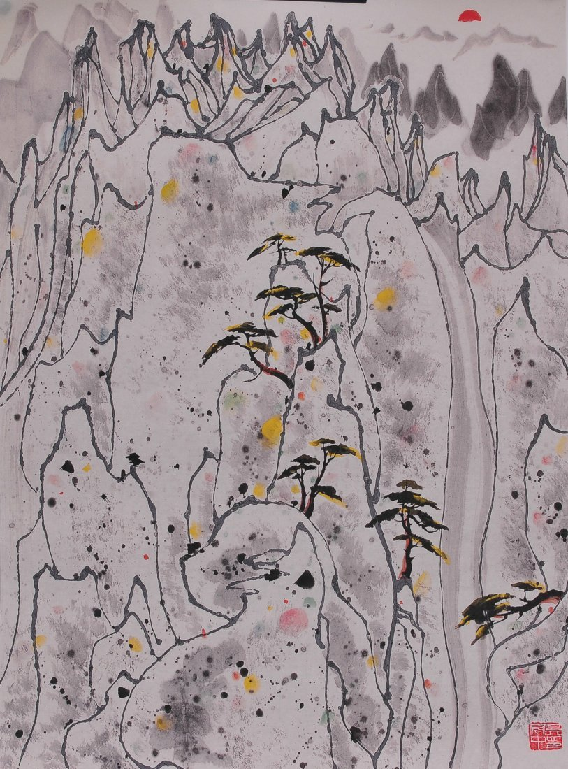 A Chinese Painting (Attributed to Wu Guanzhong)