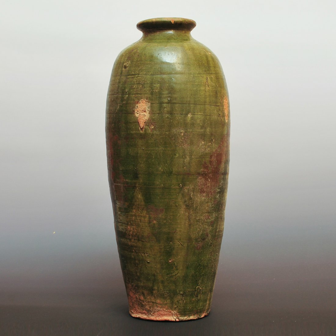Tang Dynasty, A Chinese Celadon Glazed Vase