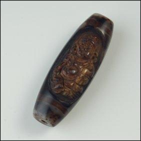 Tibet Buddhist carving beads