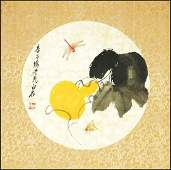 A CHINESE PAINTING (ATTRIBUTED TO QI BAISHI)