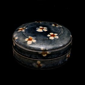 Tang Dynasty, A Chinese Porcelain Power Box