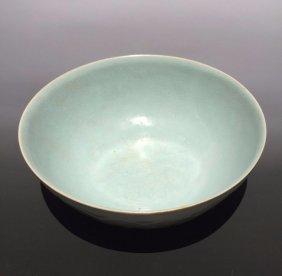 Northern Song Dynasty, A Ru Guan Kiln Celadon Bowl