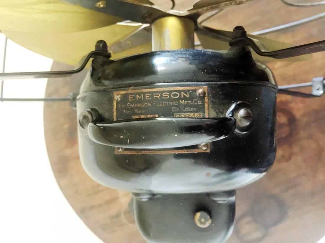"1920's Emerson Brass Electric Fan 16"" No.29648 - 5"