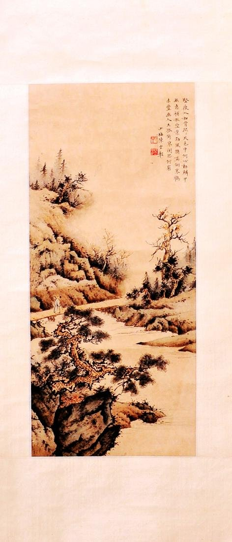 Attributed to Chen Shaomei (Chinese Scroll Painting)